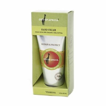 Out Of Africa Hand Cream, Verbena 2.25 oz (66 ml)