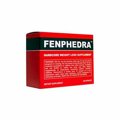 Fenphedra (60 Capsules) - Top Rated Diet Pill - Weight Loss Supplement - Take Control of Your Diet and Appetite