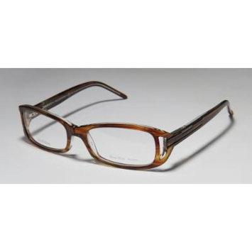 Valentino VAL5617 Eyeglasses - Striped Brown Crystal (177)