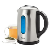 Aroma Gourmet 6-Cup Digital Electric Kettle - Silver (1.5-Liter)