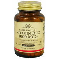 Solgar, Sublingual Vitamin B12 1000 Mcg (500)