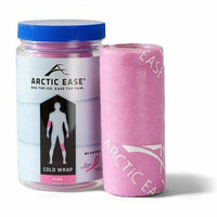 Arctic Ease Reusable Cold Wrap Pink 4 inches x 60 inches
