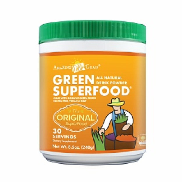 Amazing Grass Green SuperFood All Natural Drink Powder Reviews