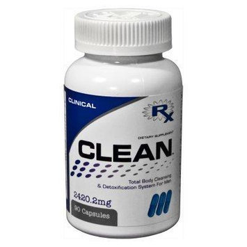 CLEANTM FOR MEN - Detoxes Liver and Supports Detoxifier and Regenerator for MEN Weight Loss Body Cleanse