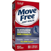 SCHIFF/BIO FOODS, Move Free Advanced Plus MSM Plus Vitamin D - 80 tabs