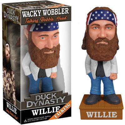 Funko Duck Dynasty Talking Willie Robertson Wacky Wobbler