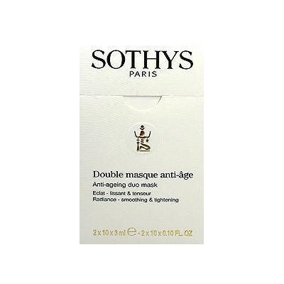 Sothys Double Masque Anti Age Duo Mask 2 X 10 X 3ml Fresh NewSothys Double Masque Anti Age Duo Mask 2 X 10 X 3ml Fresh New Good Quality for Everyone Fast Shipping Ship Worldwide
