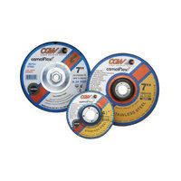 CGW Abrasives Depressed Center Wheels- 1/4