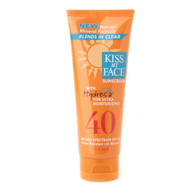 Kiss My Face Natural Mineral Sunscreen with Hydresia