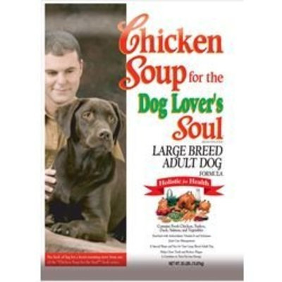 Chicken Soup For The Pet Lover's Soul Chicken Soup for the Dog Lover's Soul Dry Dog Food for Adult Dog, Large Breed Chicken Flavor, 35 Pound Bag