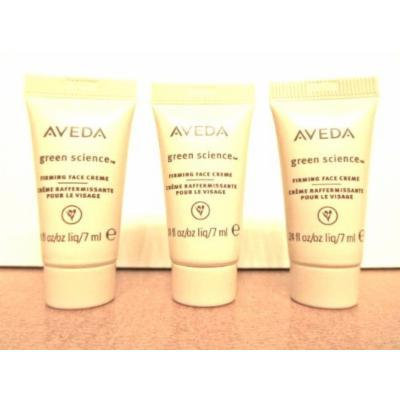 AVEDA Green Science Firming Face Creme Moisturizer 0.24oz. Deluxe Sample