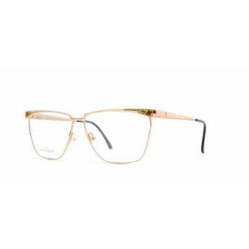 Laura Biagiotti V165 000 Gold Authentic Women Vintage Eyeglasses Frame