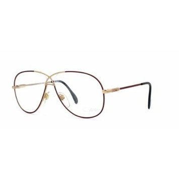 Cazal 728 331 Brown and Gold Authentic Men - Women Vintage Eyeglasses Frame