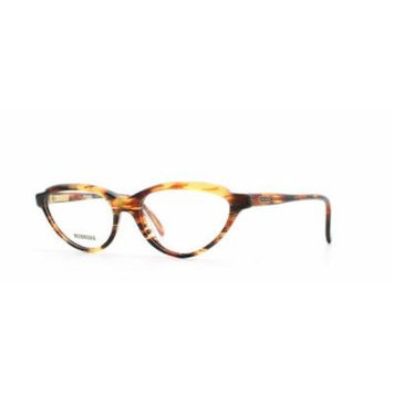 Missoni 225 A52 Brown and Yellow Authentic Women Vintage Eyeglasses Frame