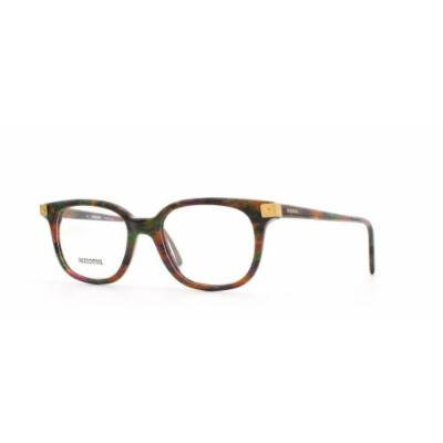 Missoni 866 A51 Purple and Green and Orange Authentic Women Vintage Eyeglasses Frame