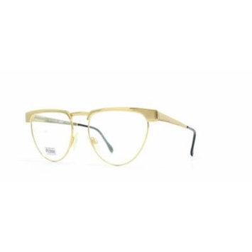 Gianfranco Ferre 87 1 Gold Authentic Women Vintage Eyeglasses Frame