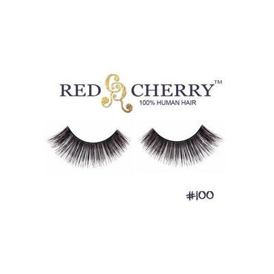 #100 Strip False Eyelashes by Red Cherry (6 Pairs)