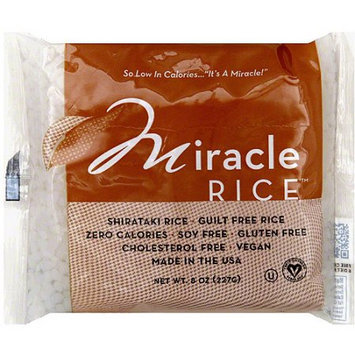 Miracle Noodle Miracle Rice Shirataki Rice, 8 oz, (Pack of 6)