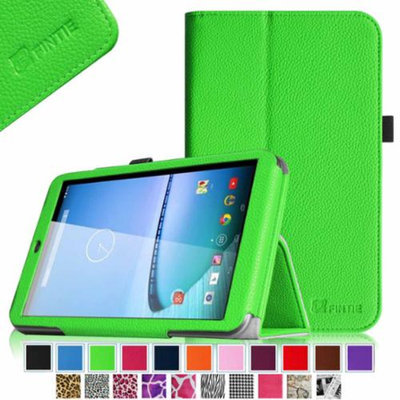 Fintie Premium Vegan Leather Stand Cover with Stylus Loop for Hisense Sero 8 Tablet, Green