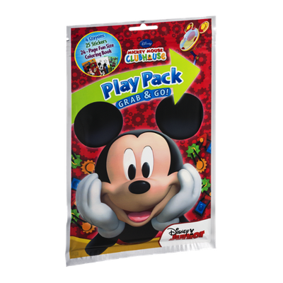 Play Pack Grab & Go! Disney Mickey Mouse Clubhouse