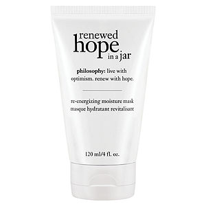 philosophy renewed hope in a jar re-energizing moisture mask, 4 oz