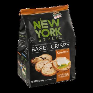 New York Style Bagel Crisps Sesame