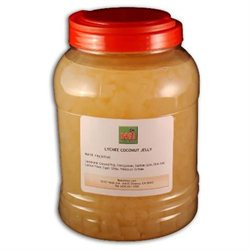 BobaStore.com Lychee Flavored Coconut Jelly, 8.8 lbs (4kg) JAR