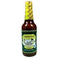 The Pepper Plant Chunky Garlic Hot Pepper Sauce 10 oz.