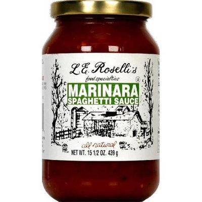 Le Roselli's Rosellis Sauce Marinara 15. 5-Ounce -Pack of 6