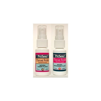 Proseed Throat Relief Spray Cherry 1 Ounces