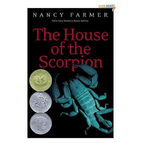 house of the scorpion The house of the scorpion author: nancy farmer publication date: 9/1/02 publisher: atheneum blurb: matteo alacrán was not born he was harvested his dna came from el patrón, lord of a country called opium--a strip of poppy fields lying between the united states and what was once called mexico.