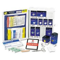 First Aid Only, Inc. MEDIUM FIRST AID KIT, 112-PIECES, OSHA COMPLIANT, METAL CASE
