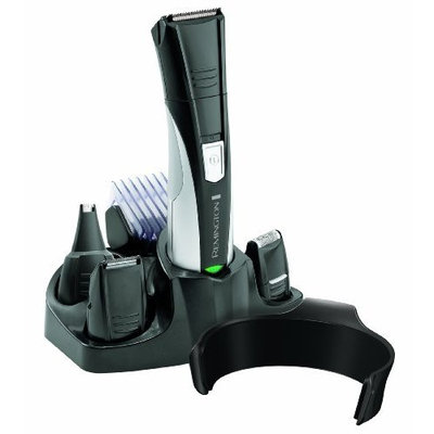 Remington PG360B 8-in-1 Rechargeable Men's Personal Grooming Kit