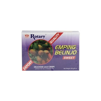 Rotary Emping Belinjo Manis (Sweet Padi Oats) - 8oz (Pack of 1)
