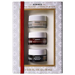 KORRES Sleeping Beauties Overnight Treatment Trio ($71 Value!), 1 set