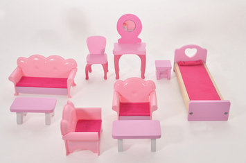 Fortune East Usa Llc Fortune East Dollhouse Furniture - 9 pc. Set