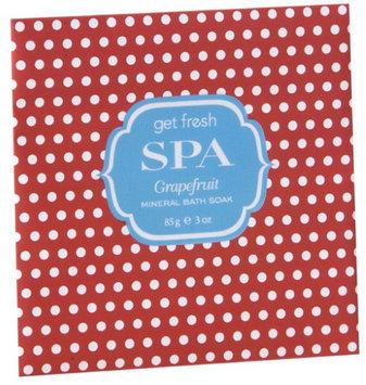 Get Fresh Spa Mineral Bath Soak - Wine & Grape Seed