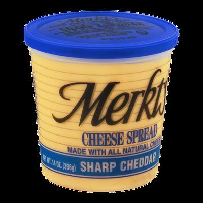 Merkts Cheese Spread Sharp Cheddar