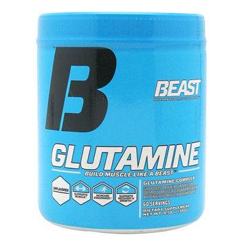 Beast Sports Nutrition Glutamine Unflavored - 60 Servings