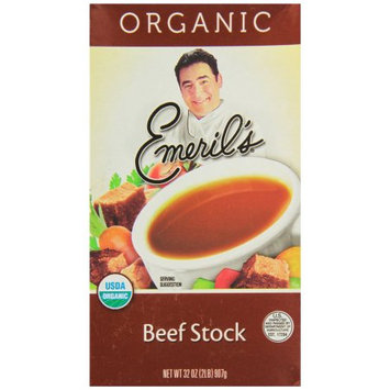 Emeril's Stock, Beef Flavored, Organic, 32 OZ (Pack of 6)