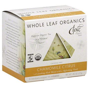 Choice Organic Teas Chamomile Citrus Tea .95 oz (Pack of 6)