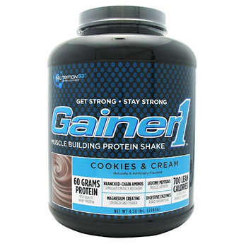 Nutrition53 Gainer1 Cookies and Cream - 4.5 lbs