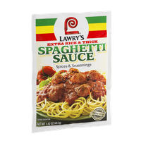 Lawry's Extra Rich & Thick Spaghetti Sauce