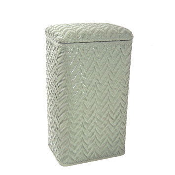 Redmon Elegante Ensemble Apartment Hamper Sage Green
