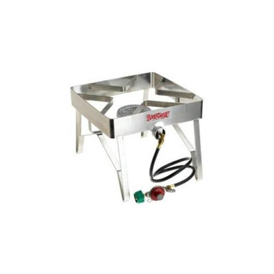 Barbour International Bayou Classic Single Burner Patio Stove- Stainless Steel