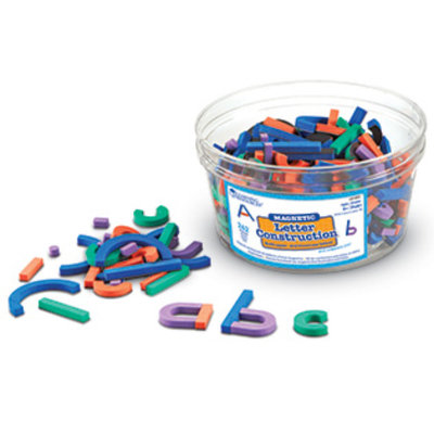 Learning Resources Inc. Magnetic Letter Construction