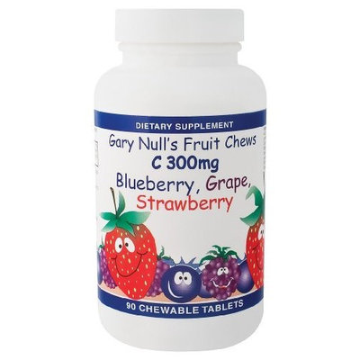 Gary Null - Gary Null's Fruit Chews C 300 Mg, 300 mg, 90 chewable tablets