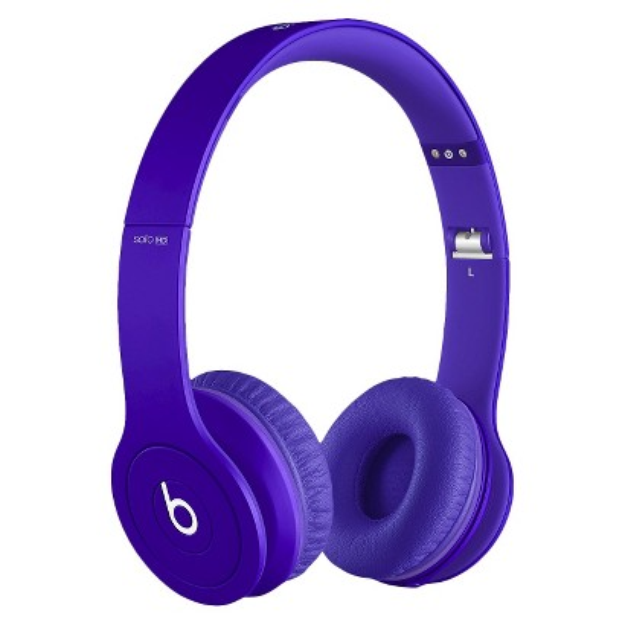 BEATS by Dr. Dre Beats by Dre Solo HD Drenched in Purple