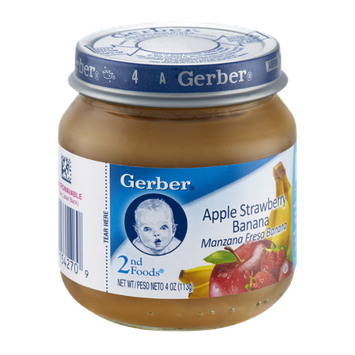 Gerber 2nd Foods Apple Strawberry Banana