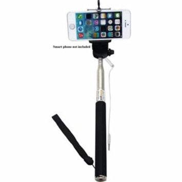 Wired Selfie Monopod - Black Color
